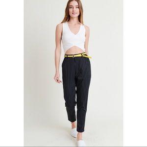 🌺 Pin striped pants